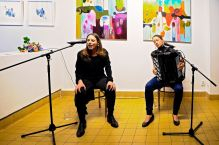 Annabelle Plum and Žaneta Vítová at ExPost Gallery